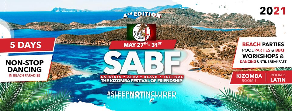 SardiniaAfroBeachFestival★27-31 May 2021-5 days★BEACH★POOL★PARTY
