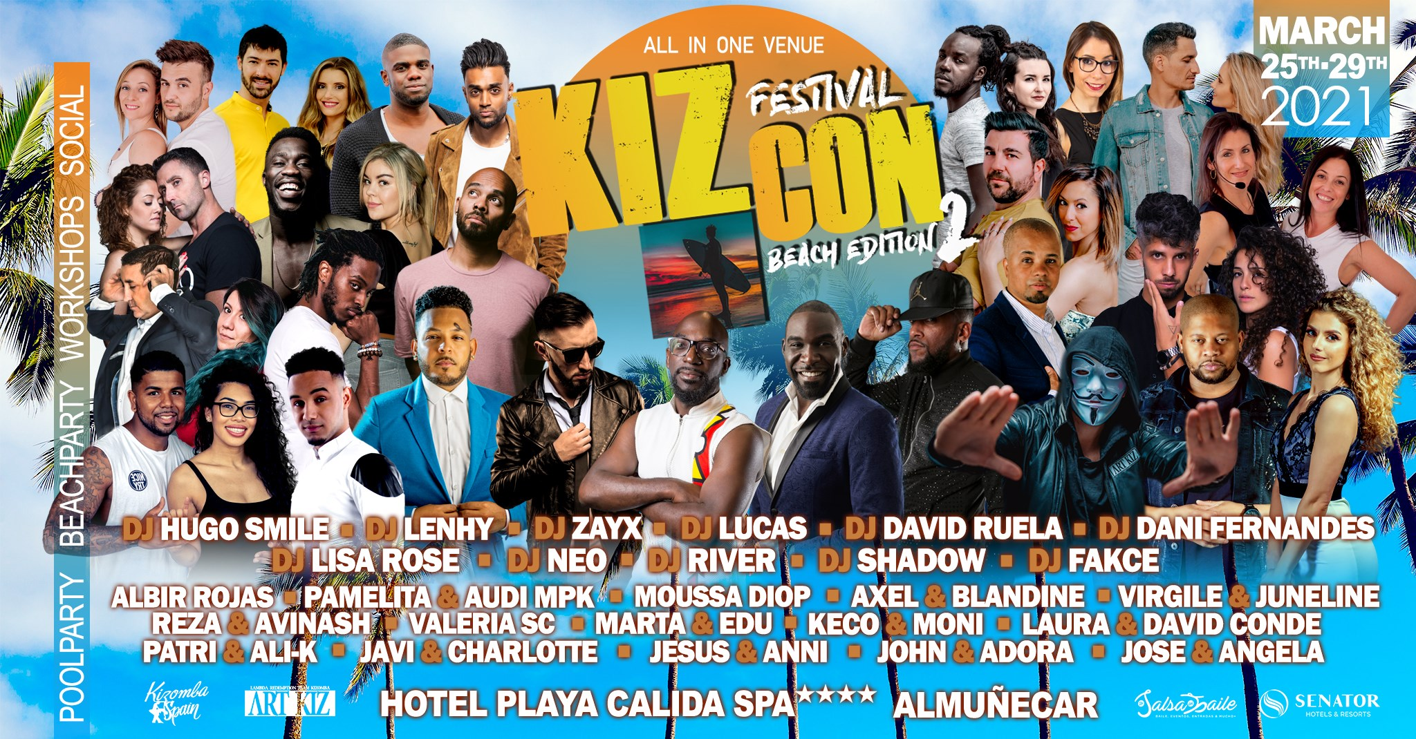 KIZCON 2021 - Beach Edition 2 Kizomba Festival (Official Event)