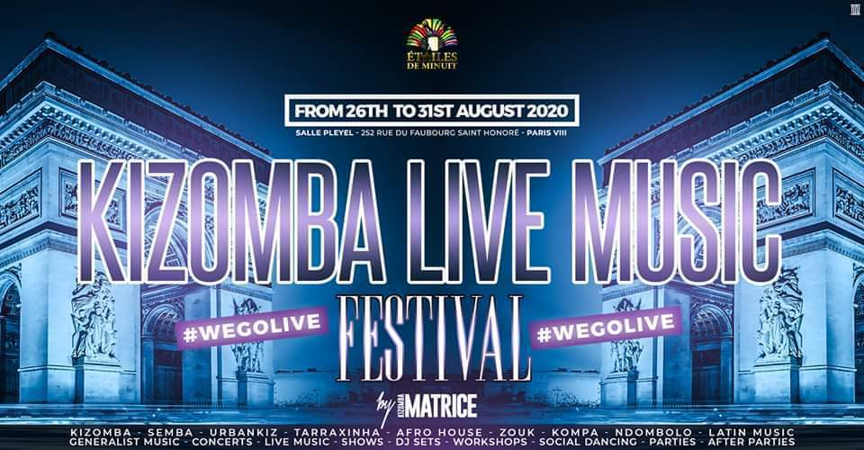 Kizomba Live Music Festival - Paris (Official Event)